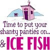 Put Your Shanty Ice Fish