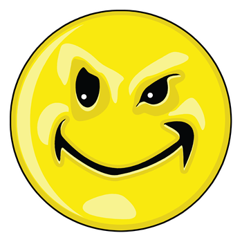 Smiley Face - Evil Smile