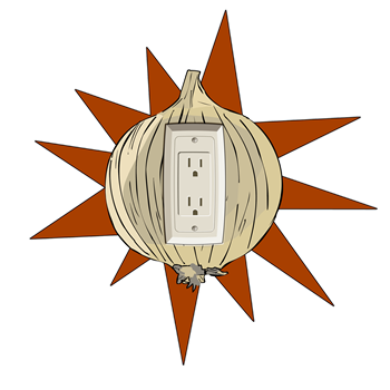 Onion Power Outlet 2