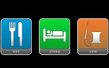 Eat, Sleep, Sew