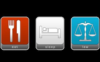 Eat, Sleep, Law