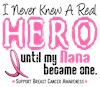 I Wear Pink Ribbon My Grandma Nana Grandmother