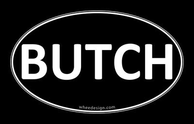 BUTCH Black Euro Oval