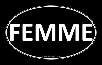 FEMME Black Euro Oval