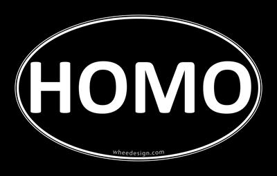 HOMO Black Euro Oval