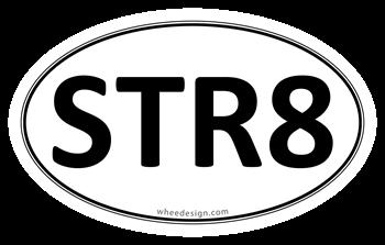 STR8 Euro Oval