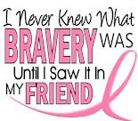 I Wear Pink Ribbon My Friend Best