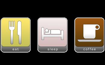Eat, Sleep, Coffee.