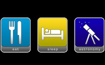 Eat, Sleep, Astronomy