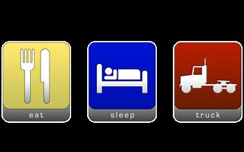 Eat, Sleep, Truck