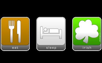 Eat, Sleep, Irish