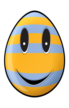 Smiley Easter Egg