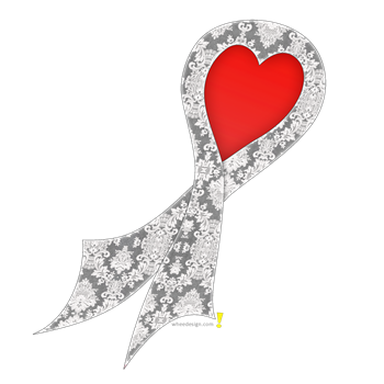 Lace Ribbon with Heart