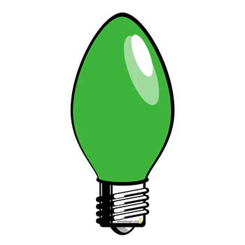Green Christmas Tree Light Bulb T-Shirts, Hoodies & Gifts - Whee ...