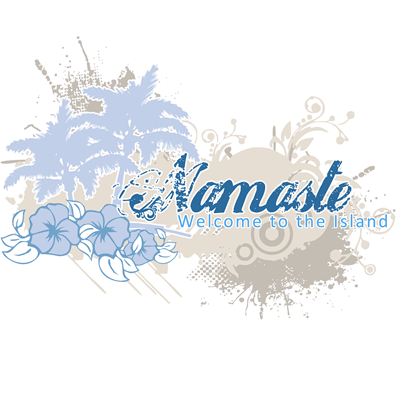 Blue Namaste - Welcome to the Island