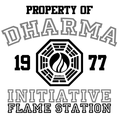 Property of Dharma Initiative - Flame Station