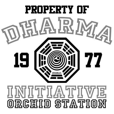Property of Dharma Initiative - Orchid Station