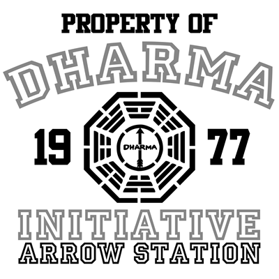 Property of Dharma Initiative - Arrow Station