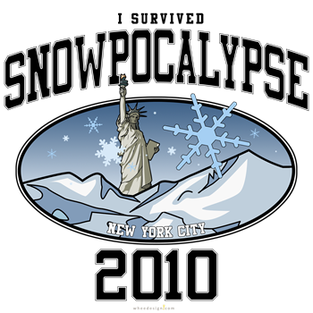 I Survived Snowpocalypse 2010 - New York City
