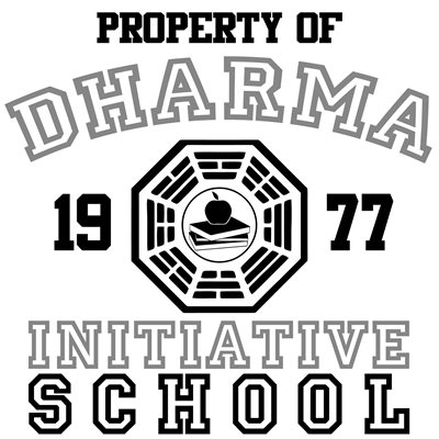 Property of Dharma Initiative - School