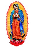 Lady Guadalupe Icon