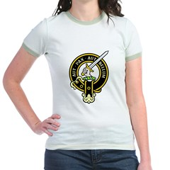 Clan Gunn black Jr. Ringer T-Shirt