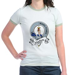 MacKay Clan Badge Jr. Ringer T-Shirt