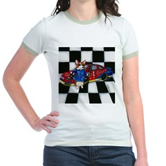 Start Your Engines! Jr. Ringer T-Shirt
