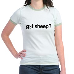 got Sheep? Jr. Ringer T-Shirt