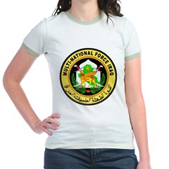 Iraq Force Jr. Ringer T-Shirt