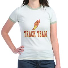 Track Team Jr. Ringer T-Shirt