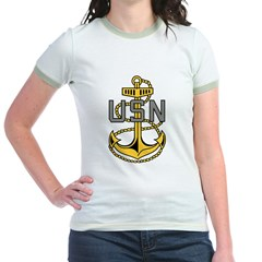 Chief Petty Officer<BR> Tank Top 4 Jr. Ringer T-Shirt