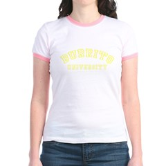 Burrito University Jr. Ringer T-Shirt