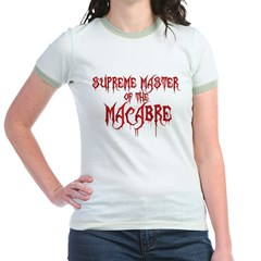 Supreme Master of the Macabre Jr. Ringer T-Shirt
