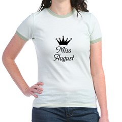 Miss Augus Jr. Ringer T-Shirt