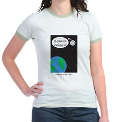 dark side of moon Jr. Ringer T-Shirt