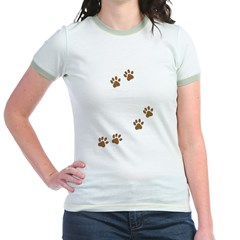 Labrador Mom Jr. Ringer T-Shirt