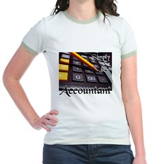 ACCOUNTAN Jr. Ringer T-Shirt