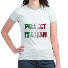 The Perfect Italian Jr. Ringer T-Shirt