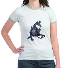 Blue Dragon Jr. Ringer T-Shirt