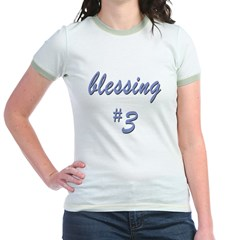 Blessing #3 Jr. Ringer T-Shirt
