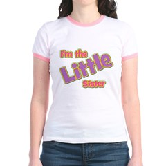 T I'm the Little Sister Jr. Ringer T-Shirt