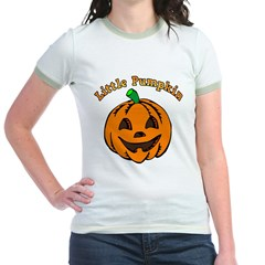 Little Pumpkin Jr. Ringer T-Shirt