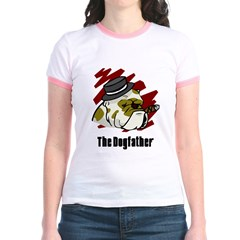The Dogfather Jr. Ringer T-Shirt