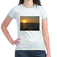Sunset Jr. Ringer T-Shirt