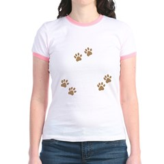 Labradoodle Mom Jr. Ringer T-Shirt