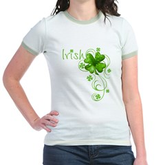 Irish Keepsake Jr. Ringer T-Shirt