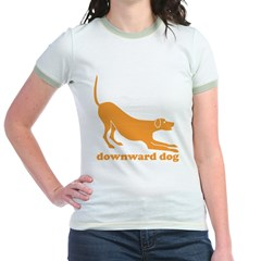 Downward Facing Dog Jr. Ringer T-Shirt