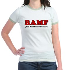 BAMF Jr. Ringer T-Shirt