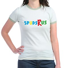 Spus-R-Us Jr. Ringer T-Shirt